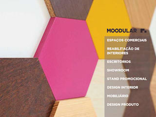 Modern commercial spaces by MOODULAR Modern