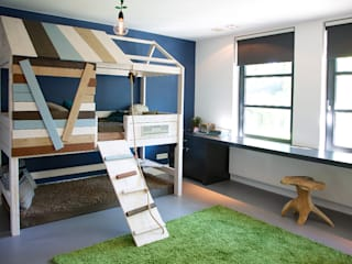 Designa Interieur & Architectuur BNA Modern nursery/kids room