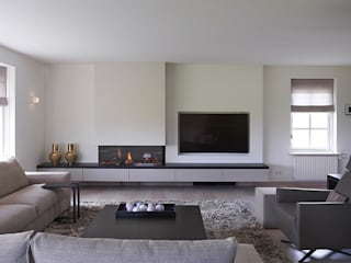 Living room by Designa Interieur & Architectuur BNA, Rustic