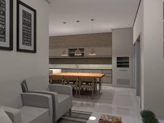 Casa SR:   por AFG Arquitetura e Interiores