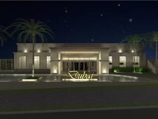 Salão de Festas: Locais de eventos  por AFG Arquitetura e Interiores