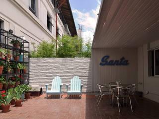 Balcones y terrazas modernos de Matealbino arquitectura Moderno