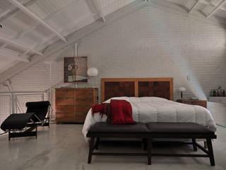 Projekty,  Sypialnia zaprojektowane przez Matealbino arquitectura