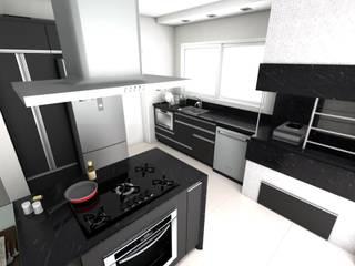 Cozinha: Cozinhas  por Arquitetando Arquitetas Associadas