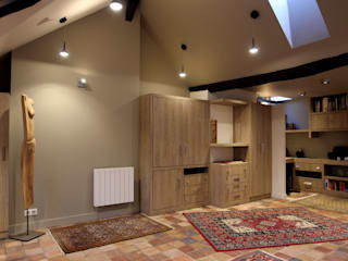 Living room by SA2L RENOVATIONS PRIVEES