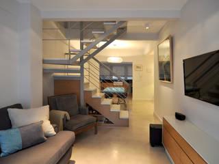 Matealbino arquitectura غرفة المعيشة