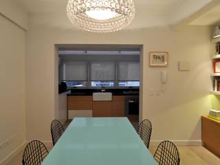Matealbino arquitectura غرفة السفرة