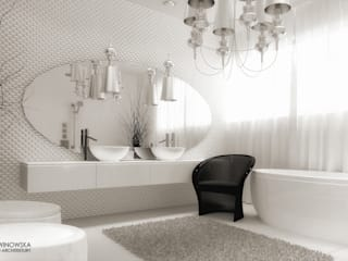 eclectic Bathroom by Ludwinowska Studio Architektury