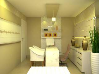 Oficinas de estilo minimalista de Duecad - Arquitetura e Interiores Minimalista