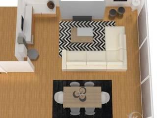 Ruang Keluarga Gaya Skandinavia Oleh Ana Pacheco - BoConcept Interior Designer Skandinavia