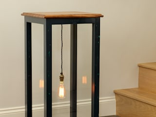 LIGHTING: Floor-standing Lamps Cue & Co of London Ingresso, Corridoio & ScaleIlluminazione