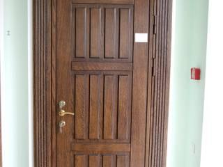 Двери, дверные порталы:  в современный. Автор – Мастерская Художественной Мебели DerevoDekor , Модерн