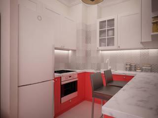 дизайн-бюро ARTTUNDRA Living room Red