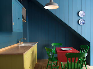 N1 Kitchen by British Standard British Standard by Plain English 廚房 木頭 Multicolored