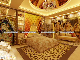MASTER BED ROOM : classic  by Shubh Mania Interior,Classic