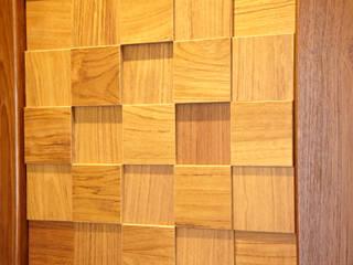 チークの家  デザイン建具・家具: 大谷建具技巧が手掛けた現代のです。,モダン