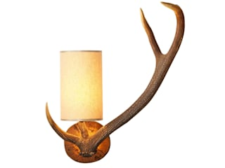 Single Arm Wall Lights Country style walls & floors by Socket Store Country