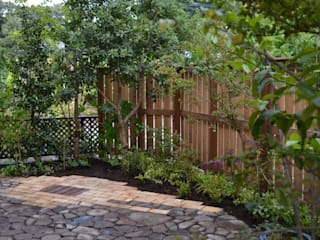 高尾の庭: ツガワランドスケープが手掛けた庭です。