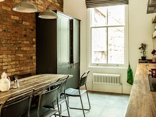 W10 Kitchen by British Standard 러스틱스타일 주방 by British Standard by Plain English 러스틱 (Rustic)