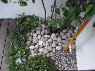 エクステリアリフォーム 埼玉県上尾市: NOD GARDENが手掛けた庭です。