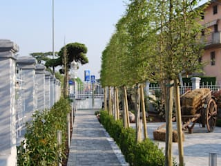 by Lugo - Architettura del Paesaggio e Progettazione Giardini Modern