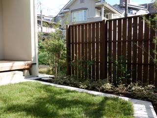 ガーデン+中庭テラス 埼玉県さいたま市: NOD GARDENが手掛けた庭です。