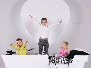 Łóżko - balon: styl , w kategorii  zaprojektowany przez LemonKid