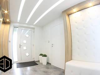 3D STUDIO Couloir, entrée, escaliers modernes