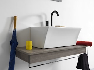 Xilon S.r.l. BathroomSinks Wood Wood effect