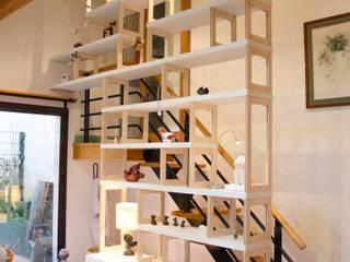 Atelier galerie d'artiste: Centre d'expositions de style  par Emilie Lagrange