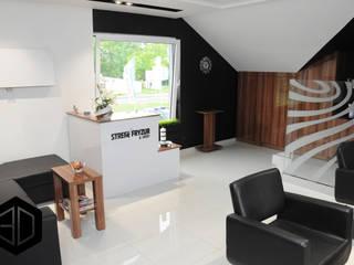 STREFA FRYZUR W CZECHOWICACH-DZIEDZICACH: styl , w kategorii Kliniki zaprojektowany przez 3D STUDIO
