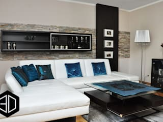 Eclectic style living room by 3D STUDIO Eclectic
