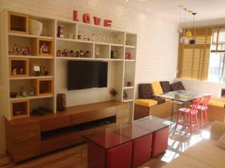 Sala de Estar: Salas de estar  por Debiaze Arquitetura