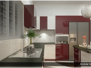 Asian style kitchen by Premdas Krishna Asian