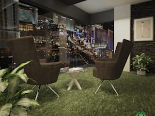 Balcon, Veranda & Terrasse modernes par Premdas Krishna Moderne