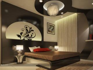 Impressive contemporary style:  Bedroom by Premdas Krishna