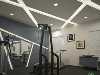 Salle de sport moderne par Premdas Krishna Moderne