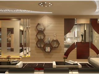 Living room Modern Living Room by Premdas Krishna Modern
