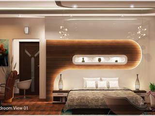 Indian Contemporary Design:  Bedroom by Premdas Krishna