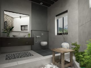 Modern bathroom by Premdas Krishna Modern