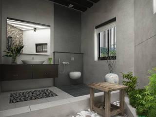 Salle de bain moderne par Premdas Krishna Moderne