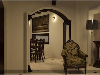 Victorian Style in Interiors Asian style corridor, hallway & stairs by Premdas Krishna Asian