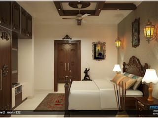 Victorian Style in Interiors Asian style bedroom by Premdas Krishna Asian