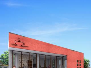 Cafetería Ixma de PRISMA ARQUITECTOS Moderno
