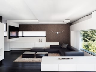 Modern living room by LEE+MIR Modern