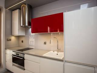 Mieszkanie w Browarze Lubicz - Kraków: styl , w kategorii Kuchnia zaprojektowany przez Lurvig