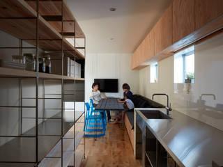 court house: 小泉設計室が手掛けたキッチンです。