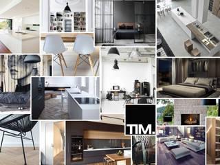 ห้องนั่งเล่น โดย Tim Knubben | Architectural Designer, โมเดิร์น
