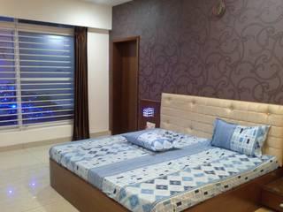 Jireti's Villa Modern style bedroom by VINCA interiors Modern