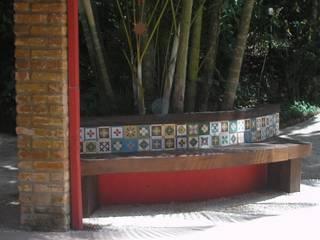 Casas de estilo rústico de Monica Guerra Arquitetura e Interiores Rústico
